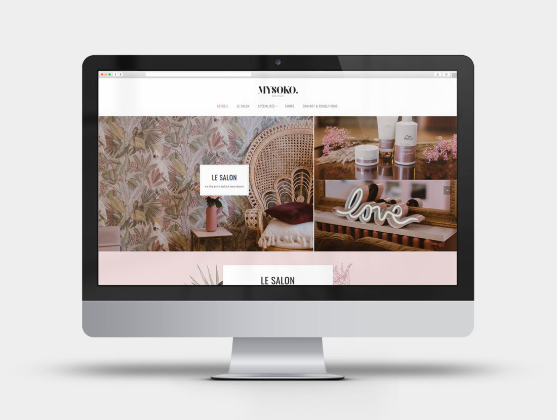 Mysoko - Design et intégration du site internet